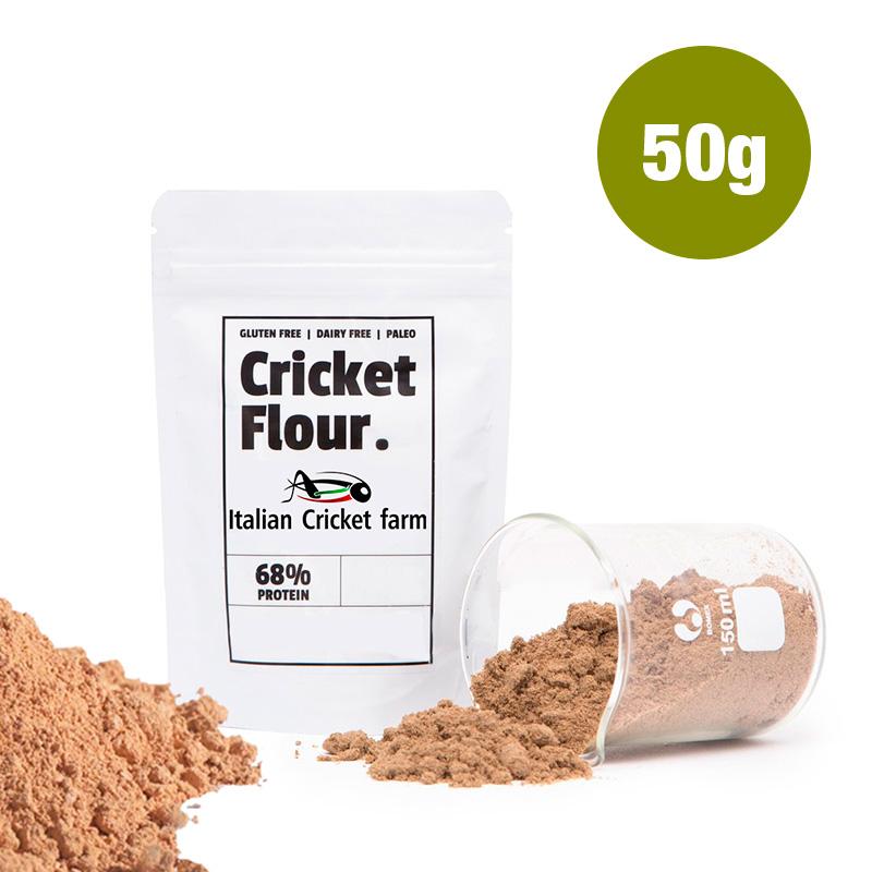 Farina di Grilli 50 grammi