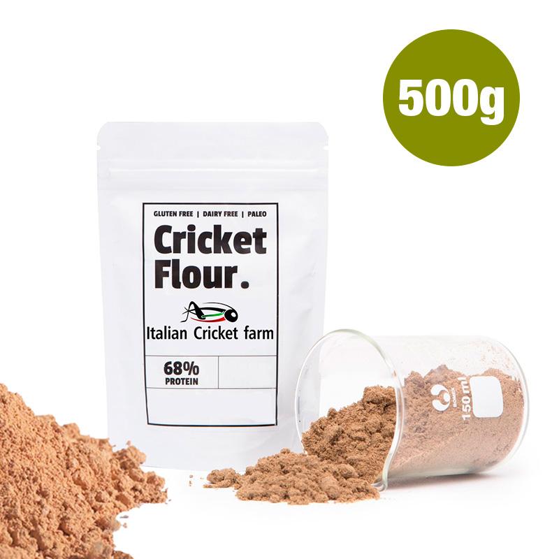 Farina di grillo 500 grammi